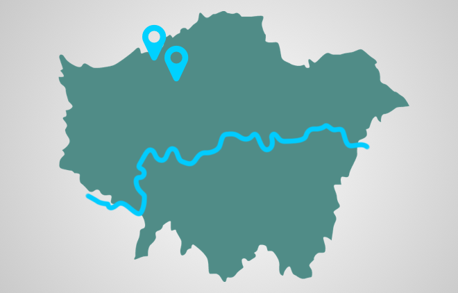 EdgCARE locations in North London